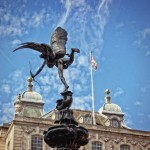 Eros Statue Piccadilly Circus serviced apartments London