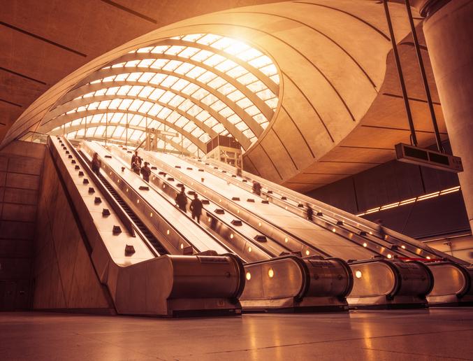 Tube Station Canary Wharf